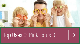 pink lotus absolute essential oil for stress
